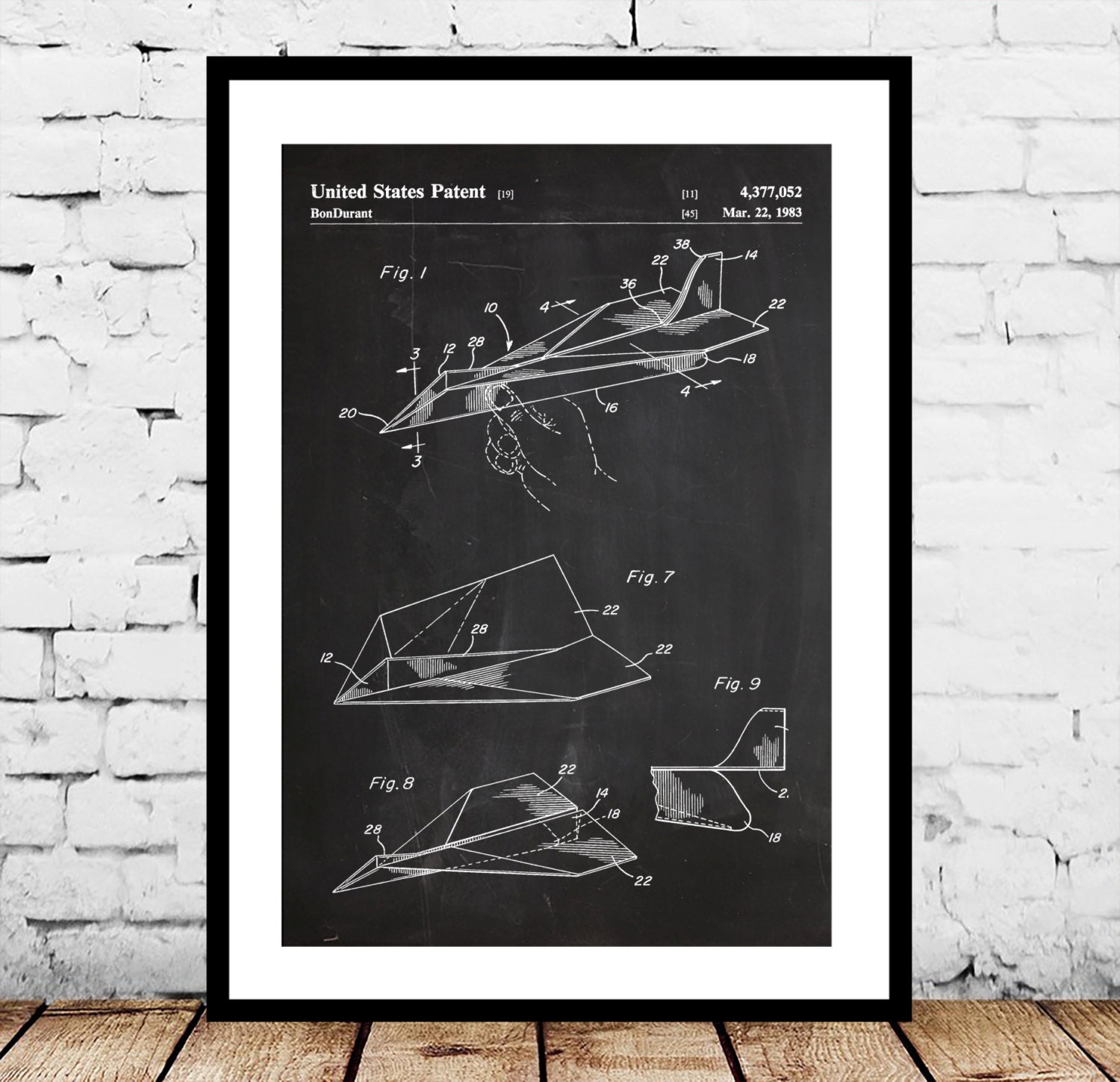 Paper airplane patent paper airplane poster paper airplane zoom malvernweather Gallery