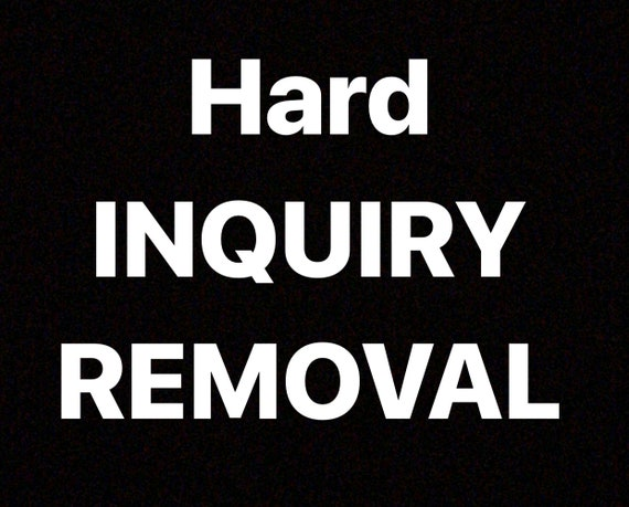 Hard Inquiry Removal Letter