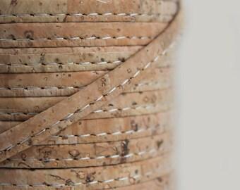 Natural Cork String 6mm