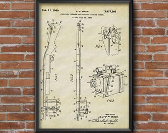Blueprint art etsy fire arm patent gun camera patent prints camera patent poster firearm patent art malvernweather Gallery