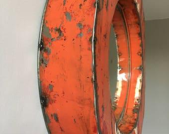 Medium Oil Drum Mirrors