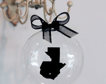 Guatemala Christmas Ornament, Custom, Adoption, Travel, Mission