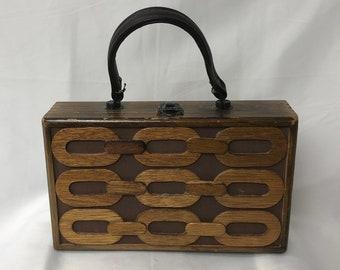 Gaymode 1950's Cigar Box Purse