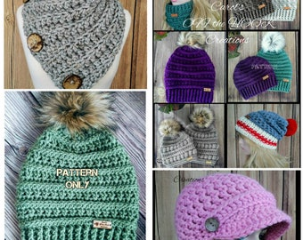 Crochet Pattern Bundle, Crochet Patterns, Crochet Bundle