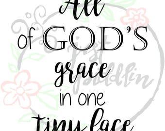 God's grace svg