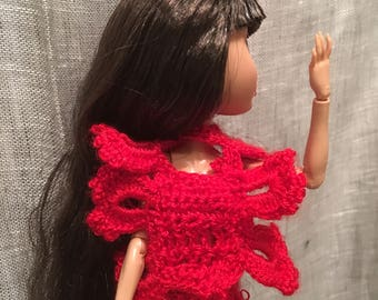 Red Passion Fuerte Tango dress doll Monster Ever after High-