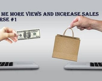 SEO Help, Get more views and sale, One on one shop help, SEO Optimization , SEO Shop Review , Shop Critique , Custom Titles & Tags ,