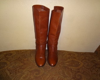 Brown Etienne Aigner Shelby Knee Boots 9.5M