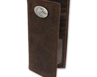 Ducks Unlimited Genuine Crazy Horse Leather Secretary Wallet