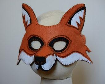 Fox Mask PDF Pattern