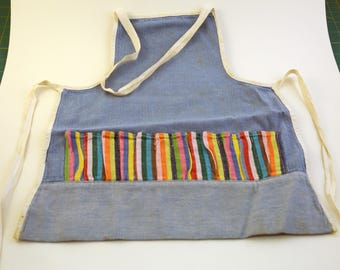 Denim Doll Apron