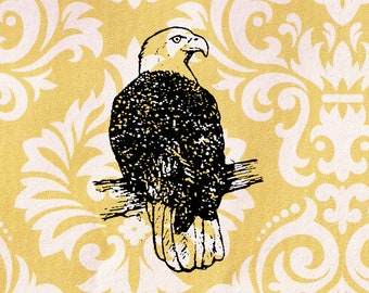 Eagle Stamp: Wood Mounted Rubber Stamp