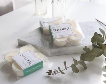4 Tea Light Candles