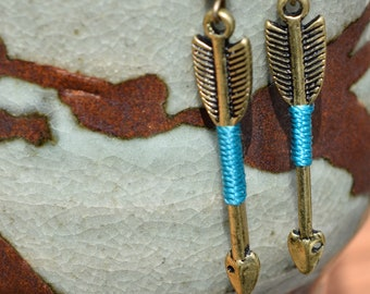 Arrow Earrings Dangle Metal Earrings Fashion Jewelry Costume Jewelry