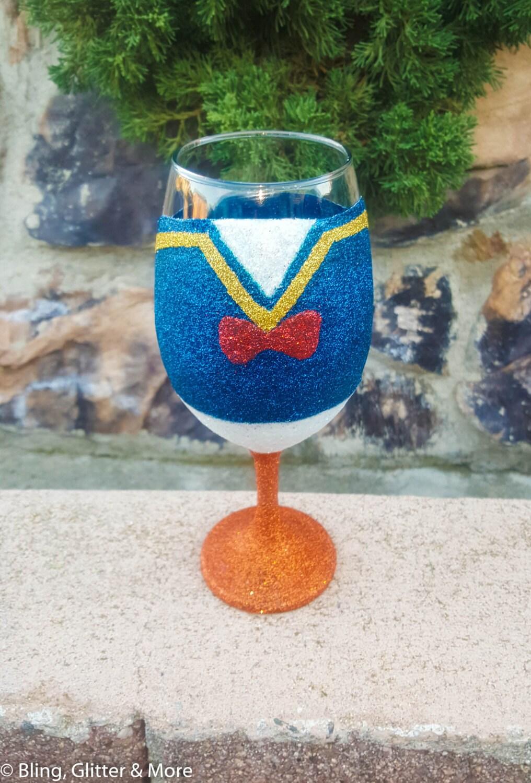 magnum decorative novelty inch glass blown decor giant wine com hand champagne chiller glasses clear amazon stemware dp