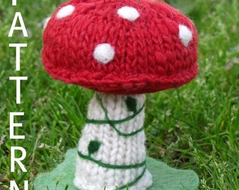 Waldorf, Fairy Mushroom Pincushion Pattern, (PDF) Digital Download