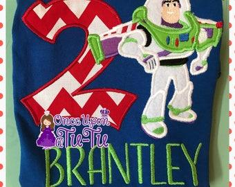 Buzz lightyear shirt. Buzz lightyear Embroidered shirt. Buzz lightyear birthday. Custom shirt. Birthday shirt. Buzz shirt. Buzz birthday.