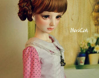 MaskcatDoll  *Nerine* 1/3 Size BJD Doll *Head Only*