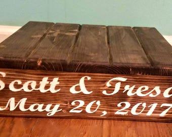 Cake Stand, Wedding Cake Stand, Rustic Cake Stand, Wood Cake Stand, Personalized Cake Stand, Country Wedding decor