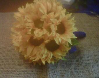 sunflower bouquet large sunflowers