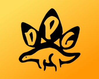 DINOSAUR PROTECTION GROUP - Pick Colour - Perfect For Mac's, Laptops, Windows, Cars and Most Smooth Surfaces