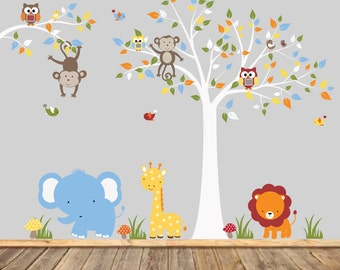 Vinyl Wall Decal  Kids Wall Decal, Nursery Wall Decal, Baby Wall Decal, Playroom Wall Decal, Owl Decal