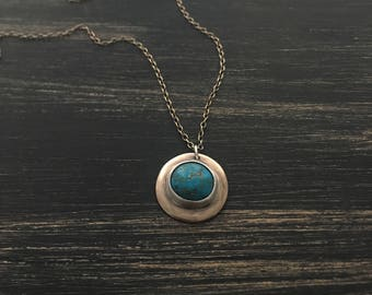 Reversible Turquoise Necklace