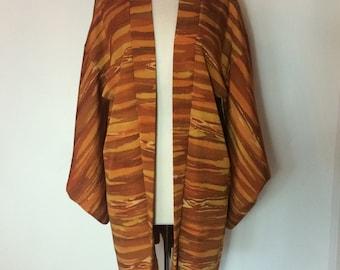 Japanese Vintage Kimono   One Size