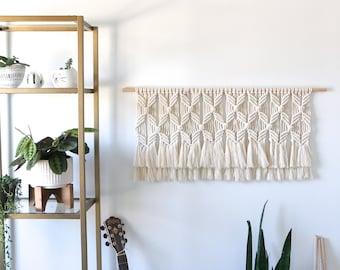 Macrame Wall Hanging | Large Wall Hanging | Macrame Headboard | Macrame Wall Art | Modern Macrame  | Headboard Tapestry | Boho Decor