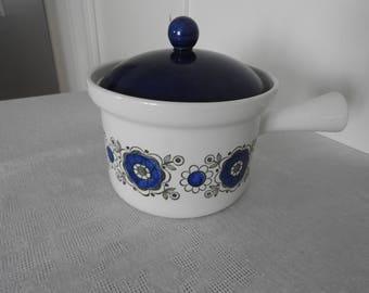 Vintage, Rörstrand/Sweden SARA  casserole with lid, mid century modern