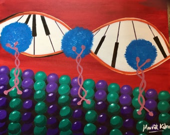 Rhythm of Life/Kinesin Walking on Microtubule with Piano in DNA