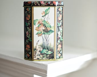 Vintage Asian Decor Tin | Meister Tin
