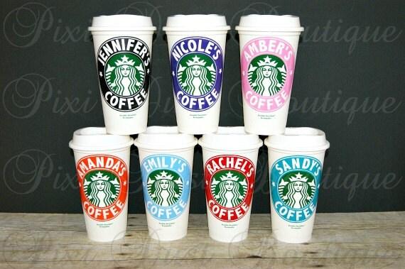 tasses caf starbucks personnalis starbucks tasses tasses. Black Bedroom Furniture Sets. Home Design Ideas