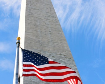 Old Glory and the Washington Monument