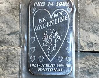 Be My Valentine Art Bar