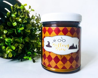 Scented Candles - Soy Candles Handmade - Harry Potter Inspired - Hot Buttered Rum Candle - Fandom Candle - Rum Gifts - Rum Scented - Buttery