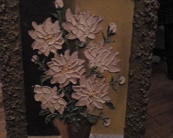 Original Painting by Gloria Lutie Smith Oil Floral