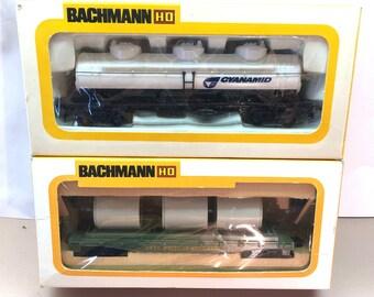 Bachmann HO Triple Dome Tank Car & Culvert Car