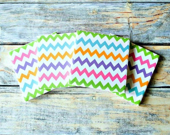 Easter Egg Stripes Coasters - Easter Coasters - Easter Gift for Adults - Easter Egg Decor - Drink Coasters - Spring Coasters - Tile Coasters