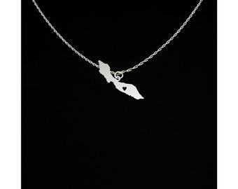 Curacao Necklace - Curacao Jewelry - Curacao Gift