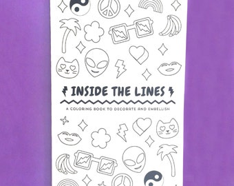 Inside The Lines Coloring Book