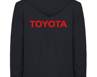 Toyota Quilted Polyester Wind and Water Resistant Winter Jacket