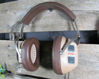 Koss Custom Pro Retro Headphones, Over the Ear Stereo Monitor Style Tested Working 1970s Home, Office, Vintage Urban Decor & Music Accessory