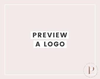 Logo Preview - Pre Made Logo Design - Branding Package - Premade Design