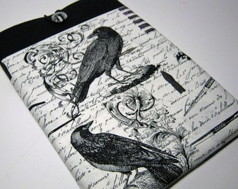 Surface Pro 4 Case, Surface 3 Case, Surface RT Sleeve, Surface 2 Case, Microsoft Surface Case, Surface Pro cover, Black Birds