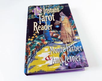 The Instant Tarot Reader, Book by Monte Farber and Amy Zerner Arcana Hardcover Book, devination reading, major minor arcana