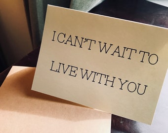 Live with you Card