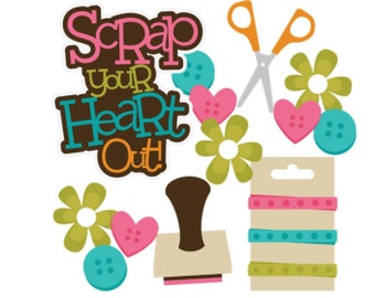 Scrapbook, Scrapbooking, die cuts, crafting, Scrapbook embellishment, scrapbook die cut, scrapbook supplies, card making