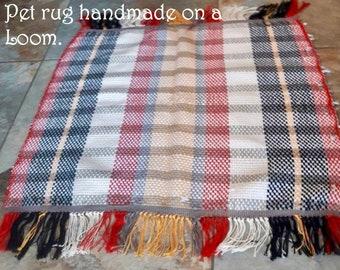 Gray Stripe Pet Rug
