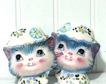 Vintage Miss Priss Salt and Pepper